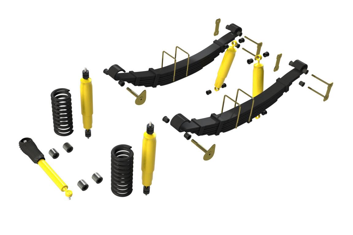 Terrain Tamer Suspension Kits